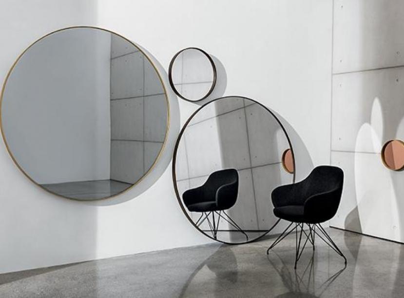 Зеркало SOVET ITALIA VISUAL ROUND