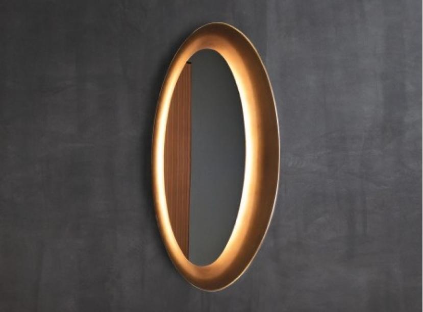 Настенное зеркало NATEVO SATURNO by Flou.
