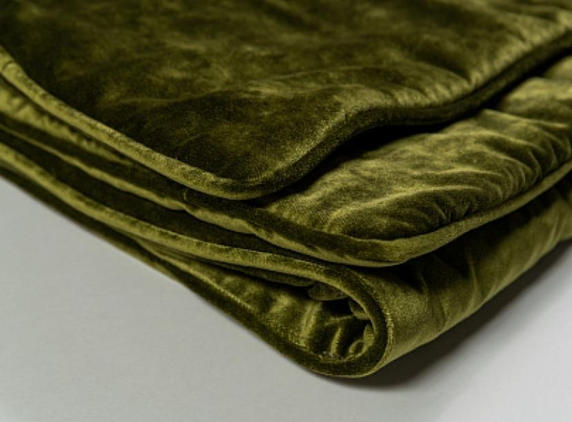 Раннер FLOU Velluto green