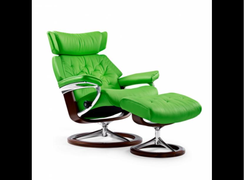 Кресло с пуфом Stressless Skyline(M) Signature chair