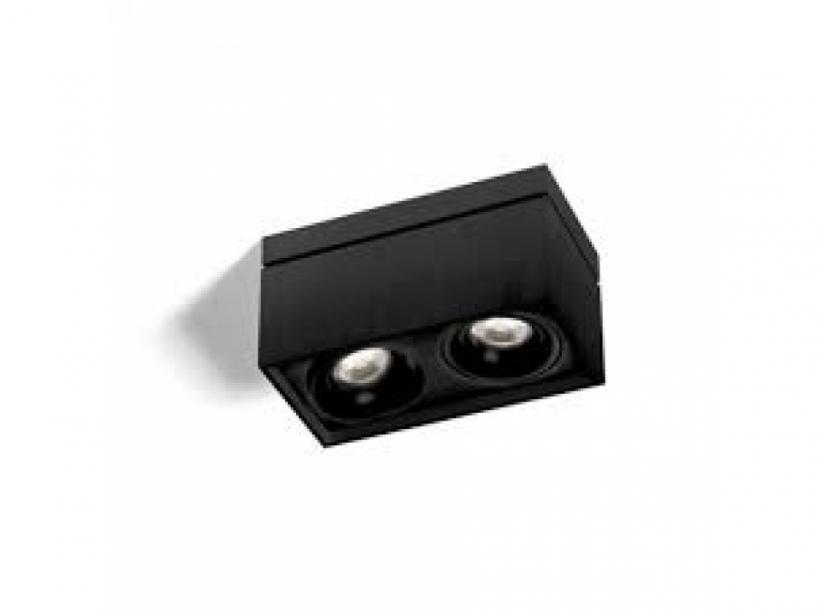 Светильник накладной Wever Ducre Sirro 2.0 LED, белый/черный