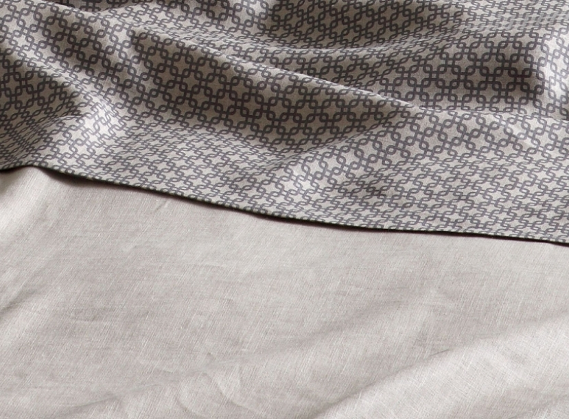 Постельное белье FLOU CHELSEA PEARL GREY 4 PILLOWC.