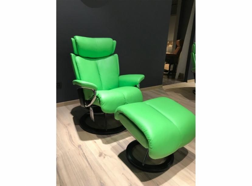 Кресло с пуфом Stressless Magic (L)
