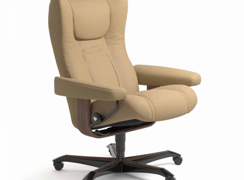 Кресло-реклайнер с пуфом STRESSLESS RENO(M)