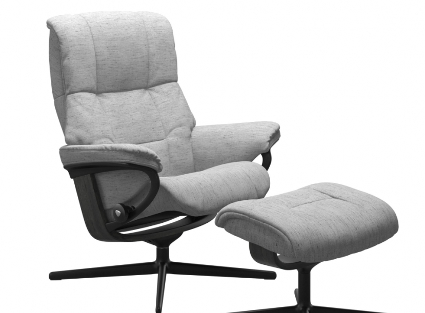 Кресло с пуфом  Stressless Mayfair(M) Сross
