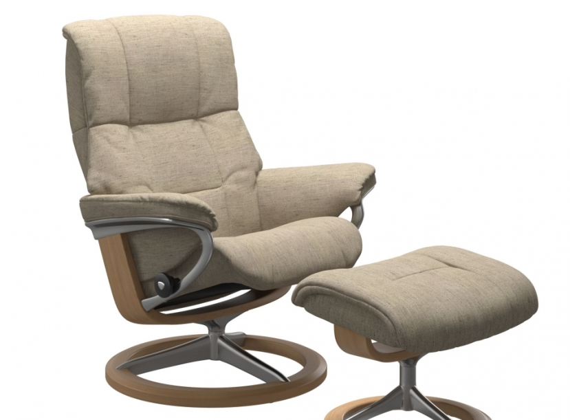 Кресло с пуфом STRESSLESS MAYFAIR(M) SIGNATIRE