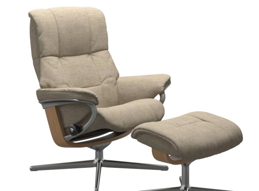 Кресло с пуфом Stressless Mayfair