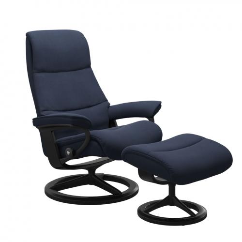 Кресло с пуфом  Stressless View(M) Signature