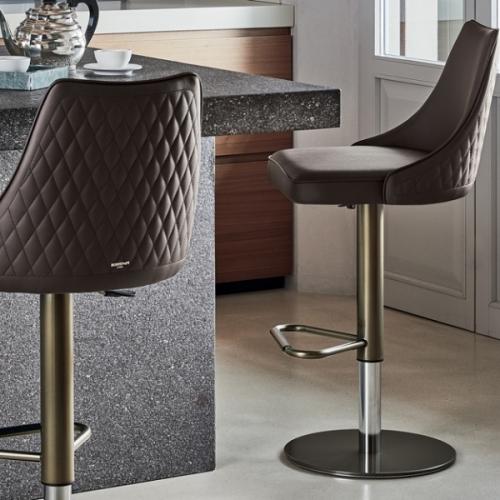 Барный стул Bontempi Casa Clara Quilted