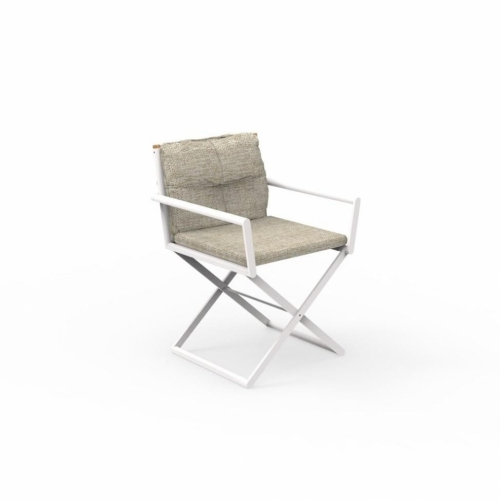 Кресло DOMINO DINING DIRECTOR CHAIR