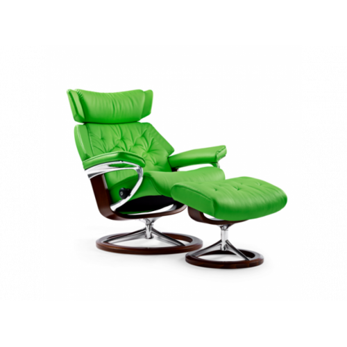 Кресло с пуфом Stressless Skyline(M) Signature chair