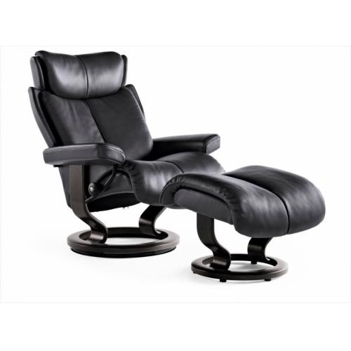 Кресло с пуфом Stressless Magic (M)  Classic base