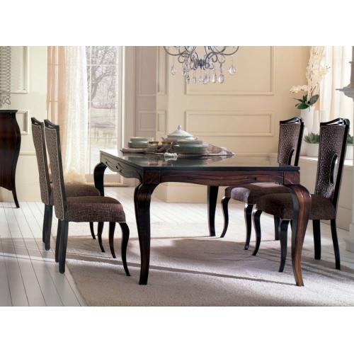 Стол STILEMA art 671+6 стульев art 679