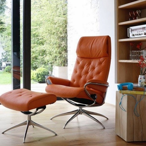 Кресло STRESSLESS LONDON HIGH BACK w/BA